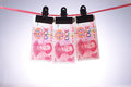 Chinese money, RMB. Stock Images