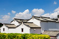Chinese national characteristics of vernacular dwelling buildings one kind Stock Photos