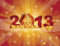 Chinese New Year 2013 Snake Bokeh Royalty Free Stock Photos