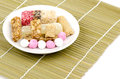 Chinese new year brought with respect to is peanut candy candy gatad sugar coated nuts hatch welding rice krispies treats Stock Image