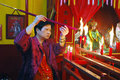 The Chinese New year Celebration In Kolkata-India Royalty Free Stock Photo