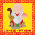Chinese New Year and Chinese God