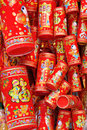 Chinese new year decoration like firecracker Stock Photos