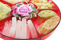 Chinese New Year Delicacies Royalty Free Stock Photo
