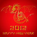 Chinese New Year of Dragon Stock Photos