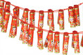 Chinese new year fire cracker ornaments Royalty Free Stock Photo