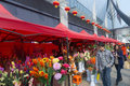 Chinese new year flower market fair this picture shows a of spring festiva in liuzhou china january Royalty Free Stock Photography