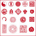 Chinese new year icon Stock Photos