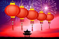 Chinese new year illustration of Royalty Free Stock Images