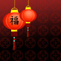 Chinese new year illustration of Royalty Free Stock Photography