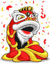 Chinese New Year Lion Royalty Free Stock Photography