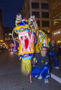 Chinese new year parade Royalty Free Stock Photography