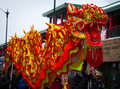 Chinese New Year Parade Dragon Royalty Free Stock Photo