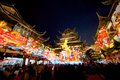 Chinese new year in shanghai year of the horse at yuyuan garden Royalty Free Stock Image