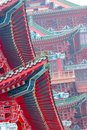 The chinese old building Royalty Free Stock Photo