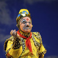 Chinese opera actor Royalty Free Stock Photography