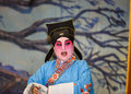 Chinese Opera, Actors in Performance Royalty Free Stock Photo