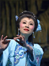 Chinese opera actress Stock Photography
