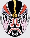 Chinese opera face Stock Photos