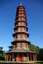 Chinese pagoda in Kew Gardens Royalty Free Stock Photo
