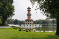 Chinese pagodas Royalty Free Stock Photo
