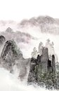 Chinese Painting Of High Mount...