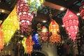 Chinese palace lanterns Royalty Free Stock Photo
