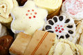 Chinese pastry close-up Royalty Free Stock Images
