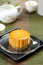 Chinese pastry [ Moon cake ] Royalty Free Stock Photography