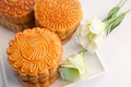 Chinese pastry and tea Royalty Free Stock Photo