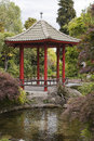 Chinese pavillion osmanthus gardens in hastings new zealand Royalty Free Stock Photography