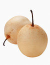 Chinese pear isolated Stock Photography