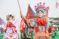 Chinese people new year parade Royalty Free Stock Images