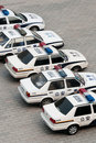 Chinese police cars Royalty Free Stock Images