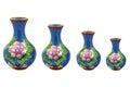 Chinese porcelain vases Royalty Free Stock Photo