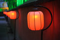 Chinese red lantern Royalty Free Stock Photos