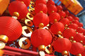 Chinese red lantern Royalty Free Stock Photo