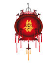 Chinese red lantern vector stock abstract Royalty Free Stock Images