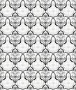 Chinese retro flower seamless pattern Stock Photos