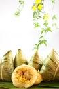 Chinese rice pudding Royalty Free Stock Photo