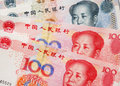 Chinese RMB notes Stock Photo