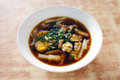 Chinese roll noodle soup, Kuay jap Royalty Free Stock Photo