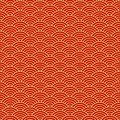 Chinese seamless pattern, oriental background. Vector illustration