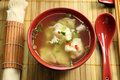 Chinese Short Soup Royalty Free Stock Images