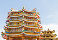 Chinese Shrine, a beautiful Chinese temple. Stock Photography