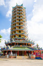 Chinese shrine  temple Royalty Free Stock Photo