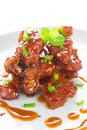 Chinese spare ribs Royalty Free Stock Image