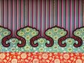 Chinese stage backdrop Stock Images