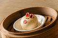Chinese Steamed Buns,Pig baozi Royalty Free Stock Photo
