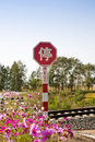 Chinese stop sign Royalty Free Stock Images